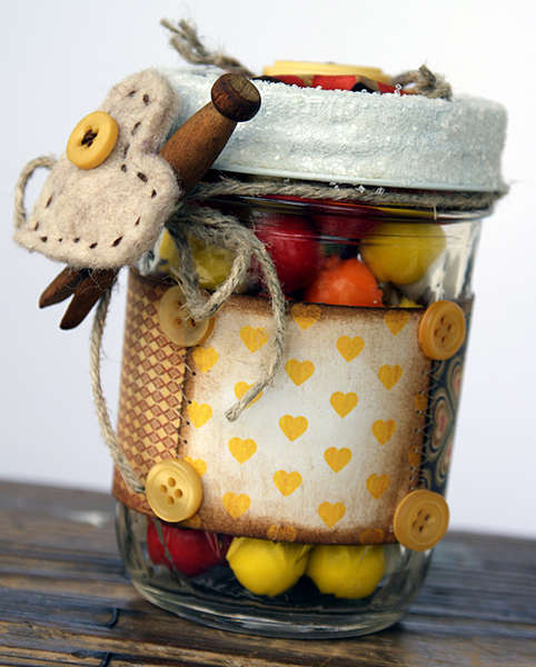 Goody, goody gum-drop gift jar...