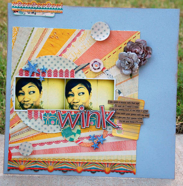 Wink * Label Tulip Kit *