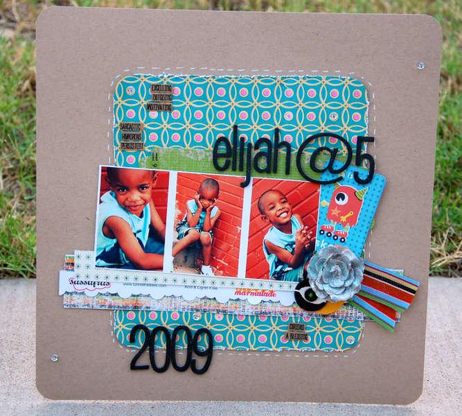 Elijah @ % * Label Tulip Kit *