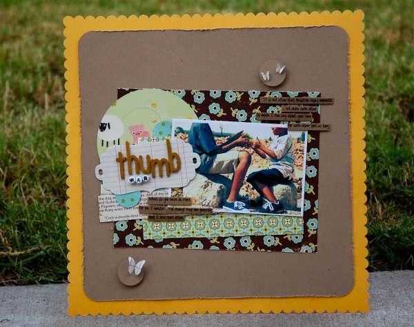 Thumb War *OA Guest Designer*
