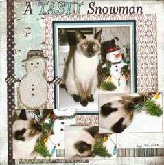 A Tasty Snowman
