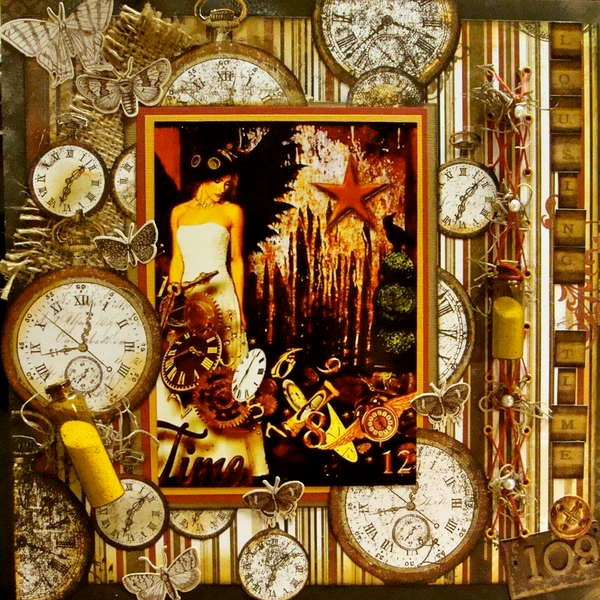 Losing Time ~~Scraps of Darkness~~