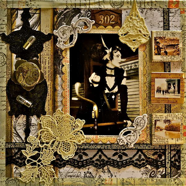 Steampunk & Lace ~~Scraps of Darkness~~