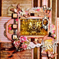 Vintage Chic  ~~Scraps of Elegance~~  ~~Imaginarium Designs~~