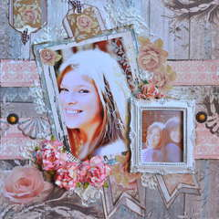Country Charm  ~~Scraps of Elegance Blog Hop~~