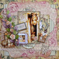 Key To My Heart  ~~Scraps of Elegance~~
