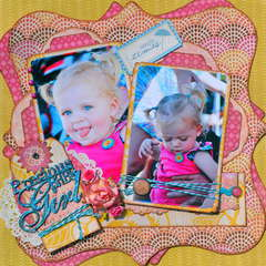Precious Baby Girl  ~Scraps of Darkness~  August Kit Reveal