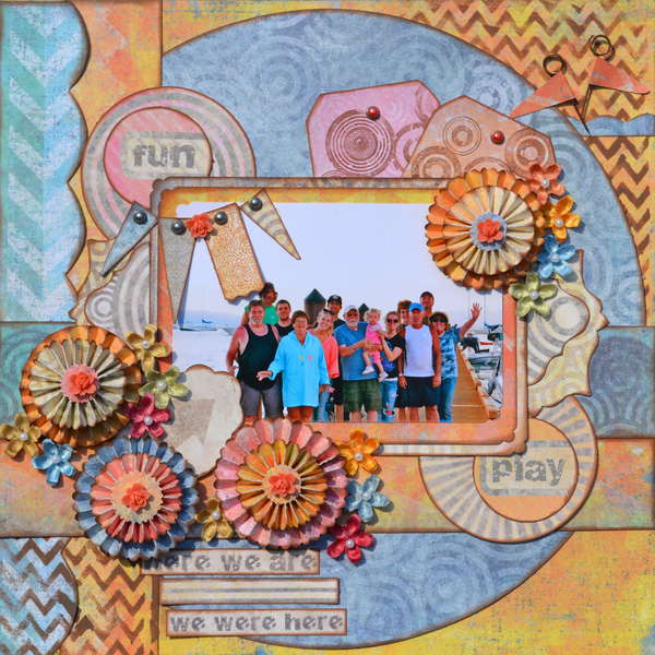Summer Time  ~Scraps of Darkness~ August Kit Reveal