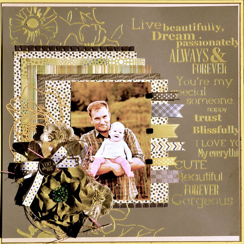 ~Craft Hoarders Anonymous Challenge Blog~  Challenge #7 - Ribbon, Lace, and Twine, Oh My!