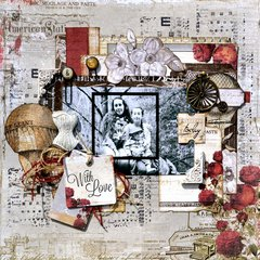 """~Scraps Of Darkness~ April Kit """"His & Hers"""" Reveal Day"""