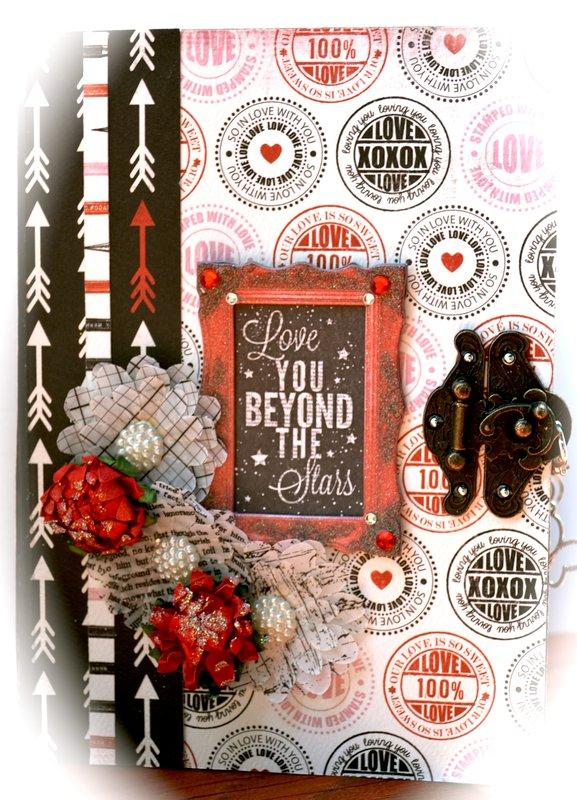 Valentine's Day Envelope Mini Album ~Scraps Of Darkness~