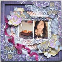 Birthday Wish *Zva Creative*