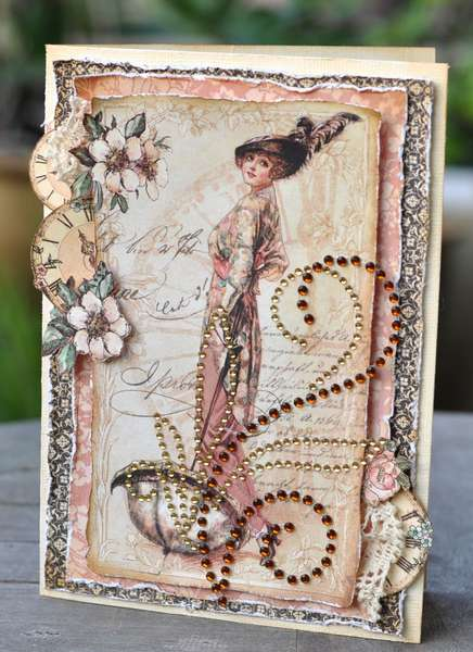 A Ladies Card *Zva Creative & Graphic 45*