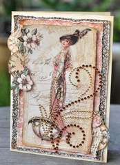 A Ladies Card *Zva Creative & Graphic 45*