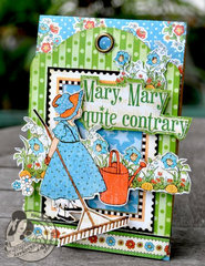 Graphic 45 Mother Goose Easel Card
