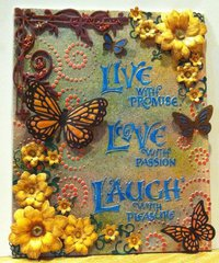 Live Love Laugh Canvas