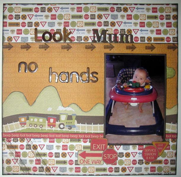 Look Mum, no hands