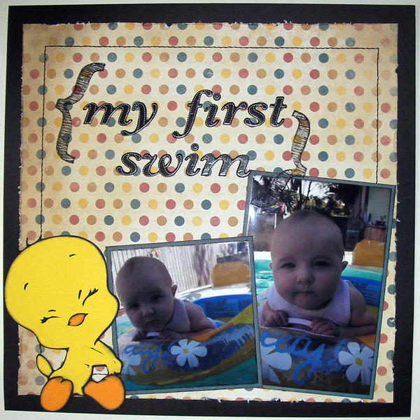 my first swim page 1
