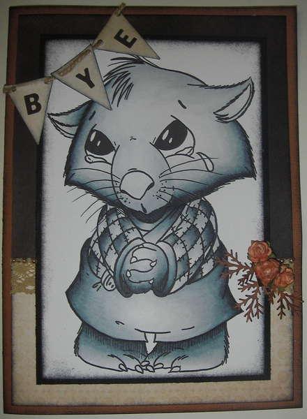 Sad Wombat