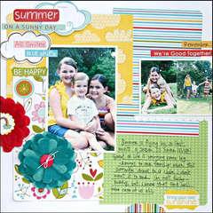 Bring Your Own Sunshine by Janna Wilson for Bella Blvd