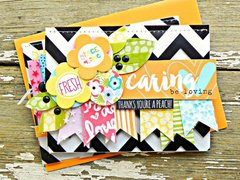 Clear Cuts and Tiny Text Alpha Inspiration from Bella Blvd DT Member Stephanie Buice
