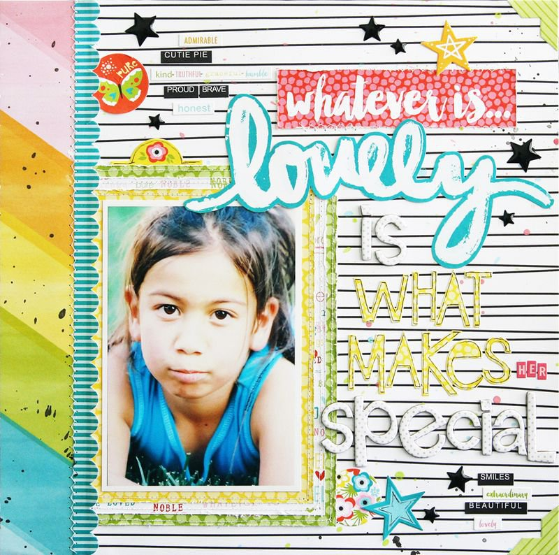 Whatever is Lovely Collection by Bella Blvd