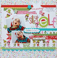 Silly Elf by Becky Williams featuring the Christmas Countdown Collection from Bella Blvd