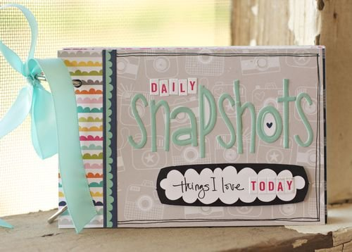Daily Snapshots Mini Album, by Brook Stewart.