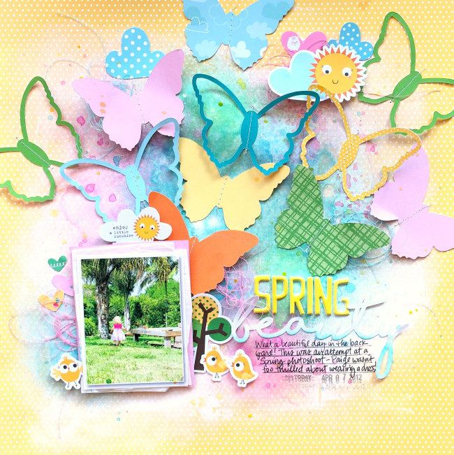 Spring Layout with Barnyard!