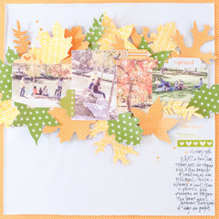 Colors of Fall Layout