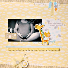 Oh Baby by Deanna Misner featuring Bella Blvd Baby/Expecting Collection
