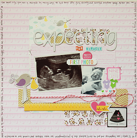 Expecting our Miracle by Becky Williams featuring Bella Blvd We're Expecting