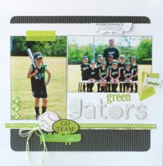 Green Gators by Deanna Misner