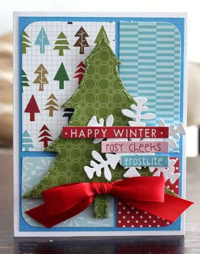Happy Winter by Alice Carmen featuring Bella Blvd Christmas Wishes