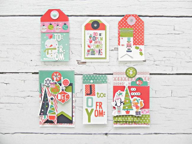 Holly Jolly Gift Tag Set