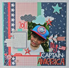 My Captain America featuring All American from Bella Blvd