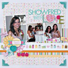 Showered with Love by Jenny Evans