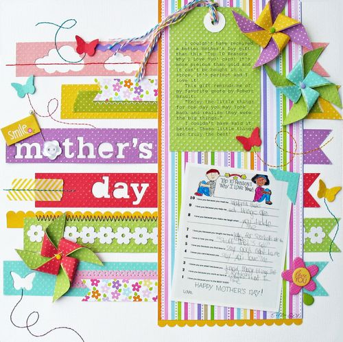 Mother's Day by Kathy Martin featuring Bella Blvd Baby Collection