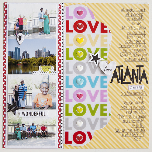 Love Atlanta by Bella DT Member Katie Rose featuring the new Invisibles Collection