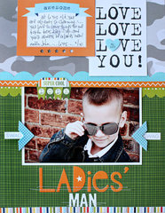Ladies' Man by Kelly Holbrook
