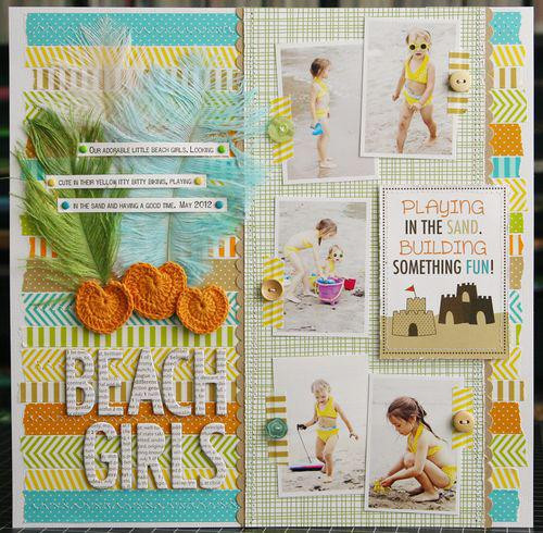 Beach Girls by Laura Vegas