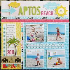 Aptos Beach by Laura Vegas