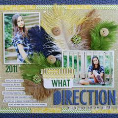 What Direction by Laura Vegas featuring the new Bella Blvd Feathers