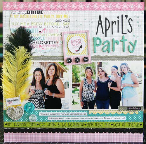 April's Bachelorette Party by Laura Vegas
