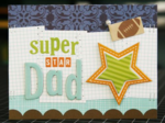 Super Star Dad by Laura Vegas featuring the New Bella Blvd Sophisticates and flags