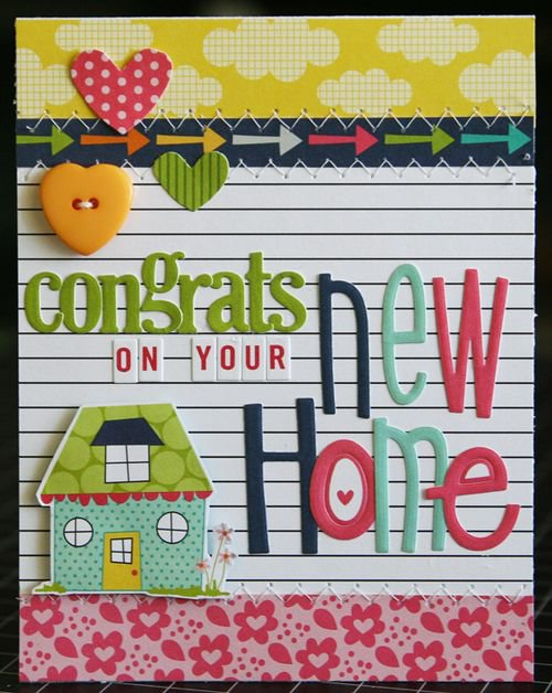"""""""New Home"""" card, by Laura Vegas."""