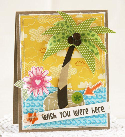 Wish you were Here by Laurie Schmidlin featuring Surf & Sand from Bella Blvd