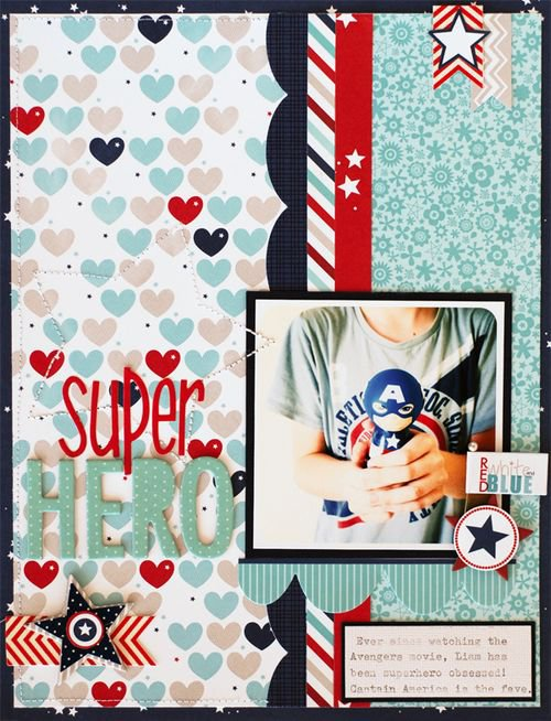 Super Hero featuring All American from Bella Blvd