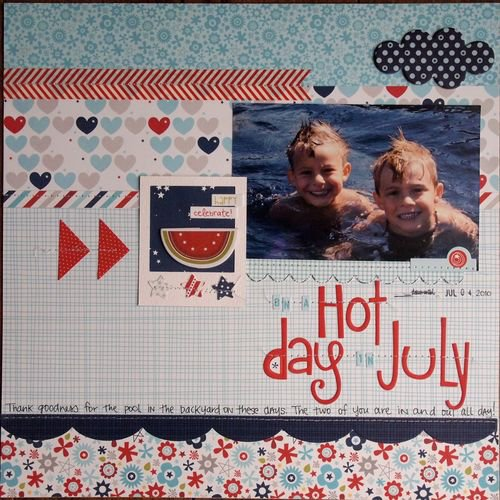 Hot Day in July featuring All American from Bella Blvd