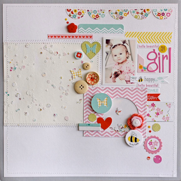 Perfect Girl by Megan Klauer featuring Bella Blvd Buttons